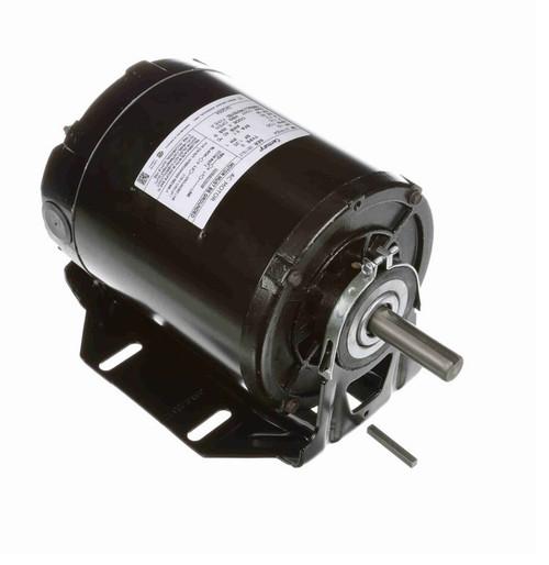 GK2054 Century 1/2 hp (1 speed) 115V 1800 RPM OPEN 56 Frame Resilient Base  Blower Motor