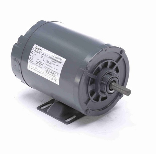 902L Century 1/4 hp (1 speed) 115V 1800 RPM TENV 48 Frame Rigid Base  Blower Motor