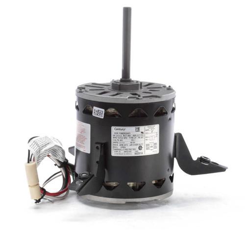 "Model 9422V1A Century 3/4 hp 1075 RPM 2-Speed 460V 5.6"" Diameter Furnace Motor Century # 9422V1A"
