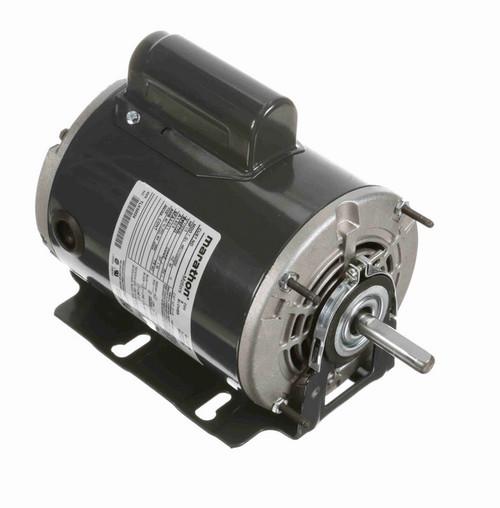 D119 Marathon 1/3 hp (1 speed) 115/230V 1800 RPM ODP 48Z Frame Cap Start Resilient Base Motor