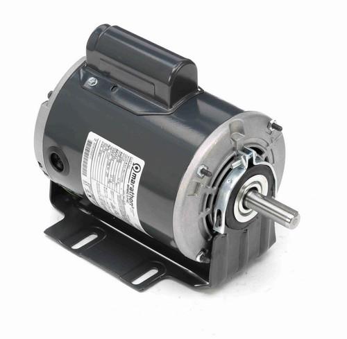 G135 Marathon 1/3 hp (1 speed) 115/230V 1800 RPM ODP 56 Frame Cap Start Resilient Base Motor