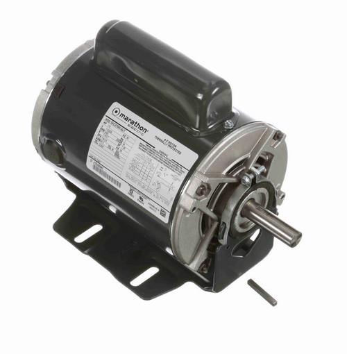 C457 Marathon 1/3 hp (1 speed) 110/220V 1500 RPM ODP 56 Frame Cap Start Resilient Base Motor