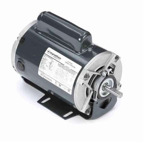 C1152 Marathon 1/2 hp (1 speed) 115/208-230V 3600 RPM ODP 48 Frame Cap Start Resilient Base Motor