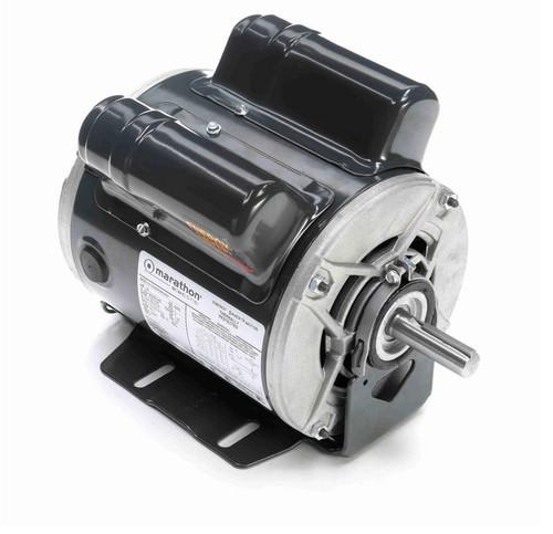 E263 Marathon 1/2 hp (1 speed) 100-120/200-240V 1800 RPM ODP 56 Frame Cap Start Resilient Base Motor