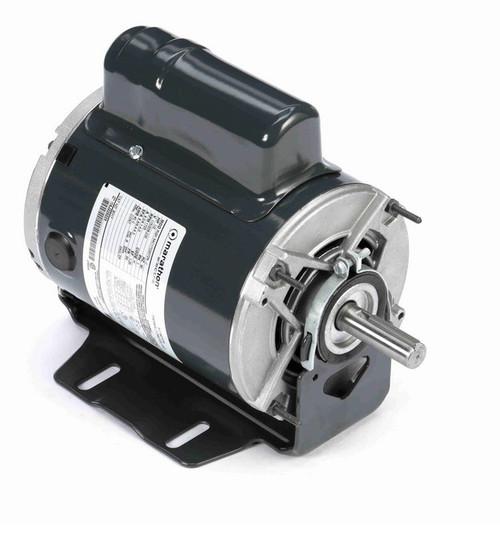 B317 Marathon 1/2 hp (1 speed) 115/208-230V 1800 RPM ODP 56 Frame Cap Start Resilient Base Motor