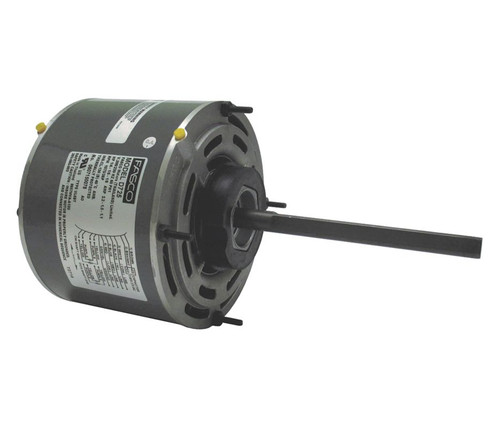 "Fasco D725 Motor | 1/6 hp 1075 RPM 3-Speed 208-230 Volts 5.6"" Diameter Fasco Furnace Motor"
