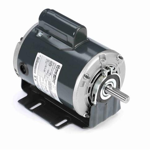 S113 Marathon 1/2 hp (1 speed) 115/230V 1800 RPM ODP 56Z Frame Cap Start Resilient Base Motor