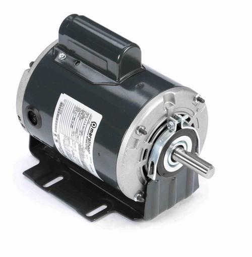 S112 Marathon 1/2 hp (1 speed) 115/230V 1800 RPM ODP 56 Frame Cap Start Resilient Base Motor