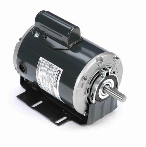 D111 Marathon 1/2 hp (1 speed) 115/230V 1800 RPM ODP 56 Frame Cap Start Resilient Base Motor