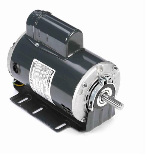 G151 Marathon 1/2 hp (1 speed) 115/230V 1800 RPM ODP 56 Frame Cap Start Resilient Base Motor