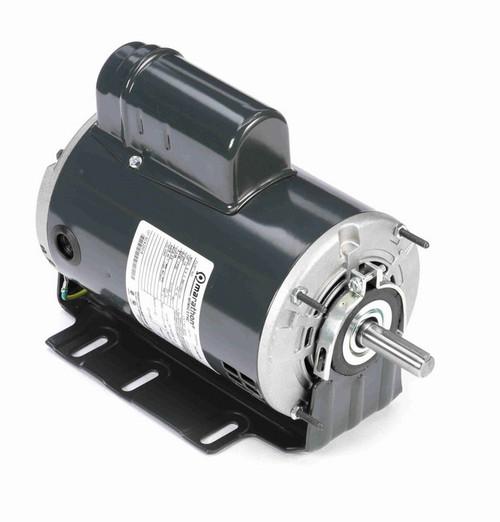 B608 Marathon 1/2 hp (1 speed) 277V 1800 RPM ODP 56 Frame Cap Start Resilient Base Motor