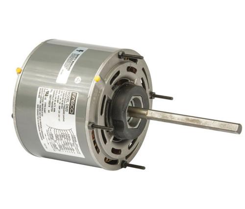"""1/3 hp 1075 RPM 3-Speed 208-230V 5.6"""" Diameter Fasco Furnace Motor # D923"""