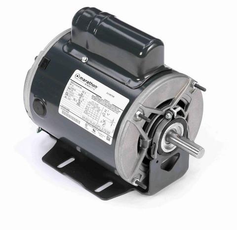 CG230 Marathon 3/4 hp (1 speed) 115/208-230V 1800 RPM ODP 56 Frame Cap Start Resilient Base Motor