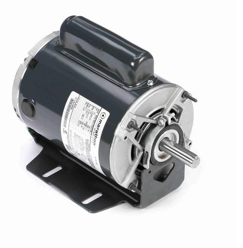 B318 Marathon 3/4 hp (1 speed) 115/208-230V 1800 RPM ODP 56 Frame Cap Start Resilient Base Motor