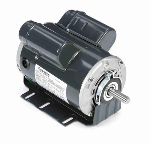 G156 Marathon 3/4 hp (1 speed) 115/208-230V 1800 RPM ODP 56 Frame Cap Start/Run Resilient Base Motor
