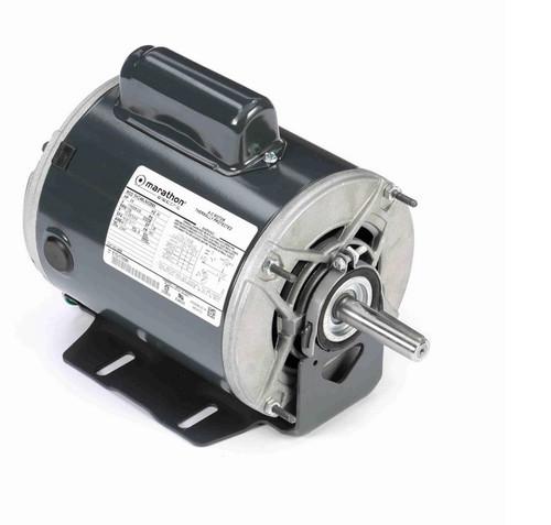 4686 Marathon 3/4 hp (1 speed) 115/208-230V 1800 RPM ODP 56Z Frame Cap Start Resilient Base Motor