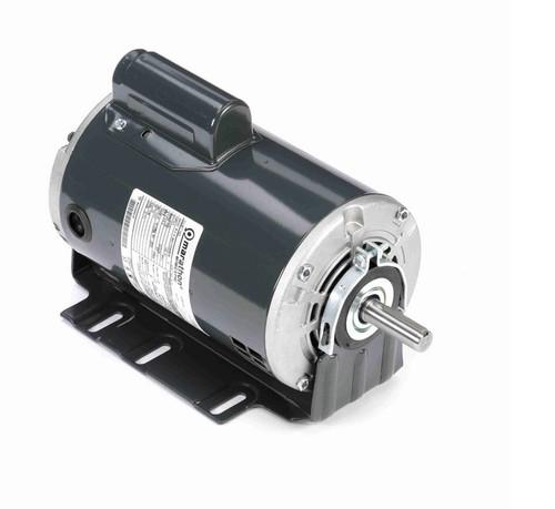 S114 Marathon 3/4 hp (1 speed) 115/230V 1800 RPM ODP 56 Frame Cap Start Resilient Base Motor