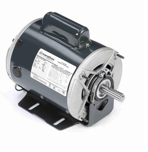 C1483 Marathon 3/4 hp (1 speed) 115/230V 1800 RPM ODP 56 Frame Cap Start Resilient Base Motor