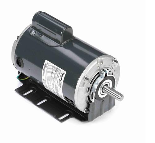 S115 Marathon 3/4 hp (1 speed) 115/230V 1800 RPM ODP 56 Frame Cap Start Resilient Base Motor