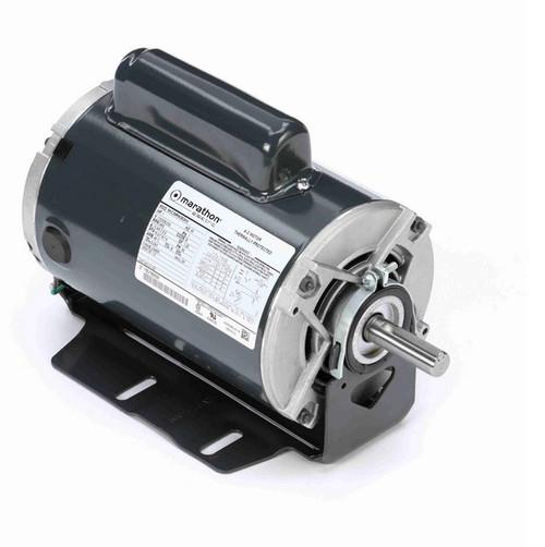 C1157 Marathon 1 hp (1 speed) 115/208-230V 3600 RPM ODP 56 Frame Cap Start Resilient Base Motor