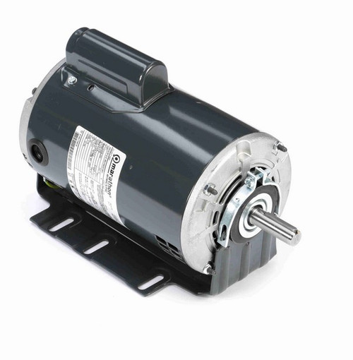 D118 Marathon 1 hp (1 speed) 115/208-230V 3600 RPM ODP 56 Frame Cap Start Resilient Base Motor