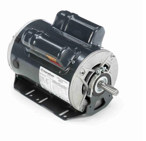 E281 Marathon 1 hp (2 speed) 100-120/200-240V 1800 RPM ODP 56H Frame Cap Start/Run Resilient Base Motor