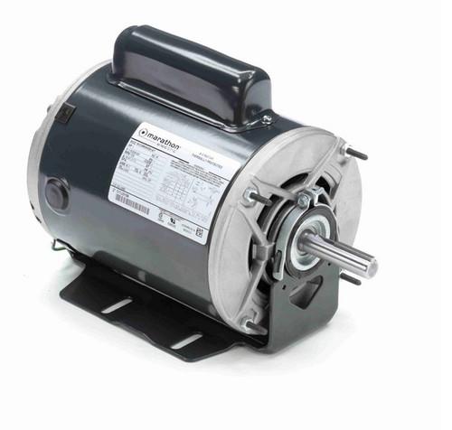 4688 Marathon 1 hp (1 speed) 115/208-230V 3600 RPM ODP 56Z Frame Cap Start Resilient Base Motor