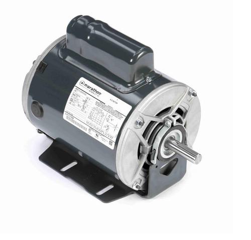 C235 Marathon 1 hp (1 speed) 115/208-230V 3600 RPM ODP 56 Frame Cap Start Resilient Base Motor