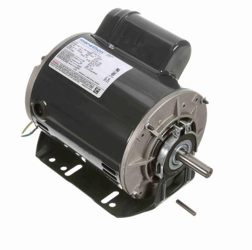 S116 Marathon 1 hp (1 speed) 115/230V 1800 RPM ODP 56 Frame Cap Start Resilient Base Motor