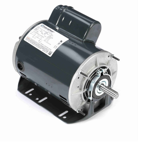 B337 Marathon 1 hp (1 speed) 277V 1800 RPM ODP 56 Frame Cap Start Resilient Base Motor