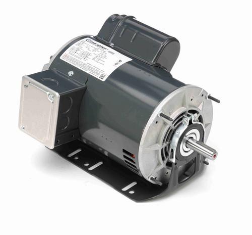 B336 Marathon 1 1/2 hp (1 speed) 115/208-230V 1800 RPM ODP 56H Frame Cap Start Resilient Base Motor