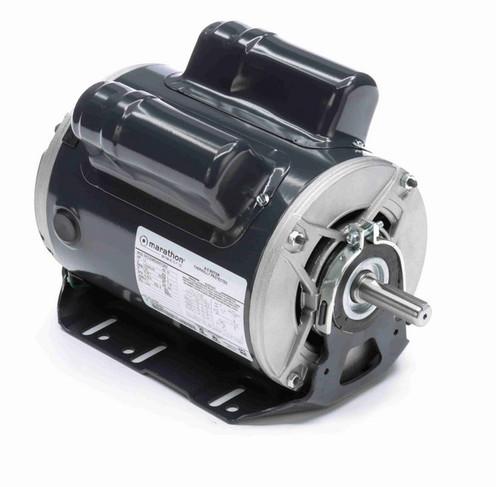 CG239 Marathon 1 1/2 hp (1 speed) 115/208-230V 1800 RPM ODP 56H Frame Cap Start/Run Resilient Base Motor