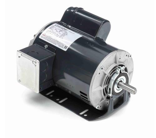 B338 Marathon 1 1/2 hp (1 speed) 277V 1800 RPM ODP 56H Frame Cap Start Resilient Base Motor