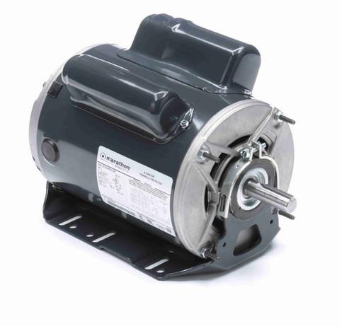 C1161 Marathon 2 hp (1 speed) 115/208-230V 3600 RPM ODP 56H Frame Cap Start/Run Resilient Base Motor