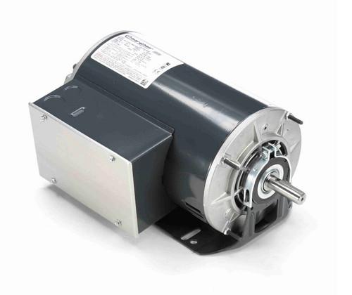 B352 Marathon 2 hp (1 speed) 115/208-230V 1800 RPM ODP 56H Frame Cap Start/Run Resilient Base Motor