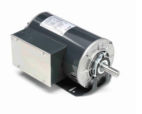 I147 Marathon 2 hp (1 speed) 115/208-230V 1800 RPM ODP 56H Frame Cap Start/Run Resilient Base Motor
