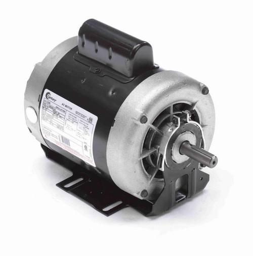 C226 Century 1/3 hp (1 speed) 115/208-230V 1800 RPM Open 56 Frame Cap Start Resilient Base Motor