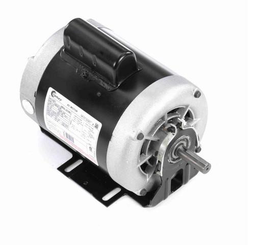 C231 Century 1/3 hp (1 speed) 115/208-230V 1200 RPM Open 56 Frame Cap Start Resilient Base Motor