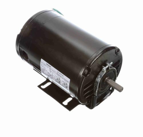 BF1052 Century 1/2 hp (1 speed) 115/208-230V 3600 RPM ODP 48 Frame Cap Start Resilient Base Motor