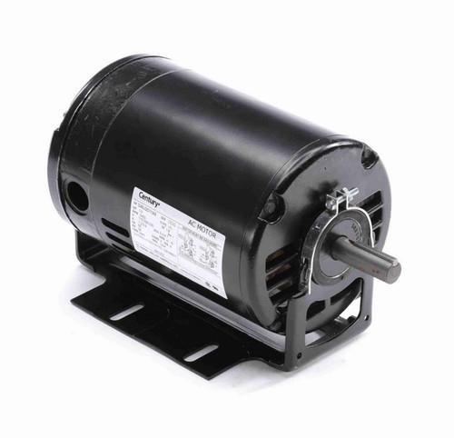 BK1052 Century 1/2 hp (1 speed) 115/208-230V 3600 RPM ODP 56 Frame Cap Start Resilient Base Motor