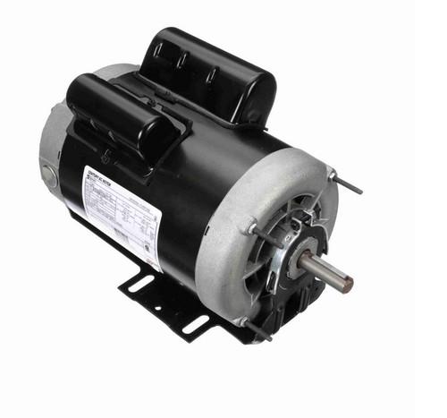 C343 Century 1 hp (1 speed) 115/230V 1200 RPM ODP 56 Frame Cap Start/Run Resilient Base Motor