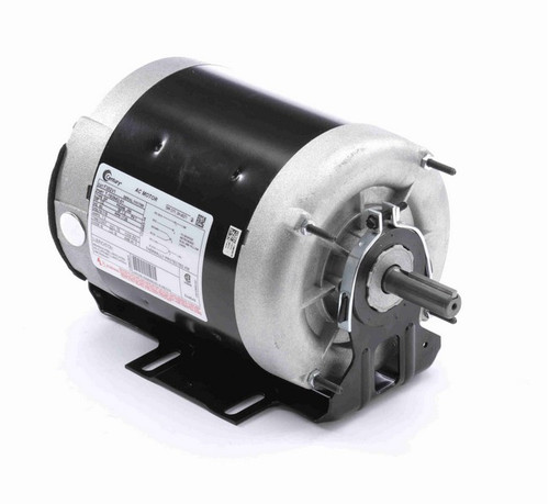 F352V1 Century 1/2 hp (1 speed) 115V 1800 RPM TENV 56 Frame Split Phase Resilient Base Motor