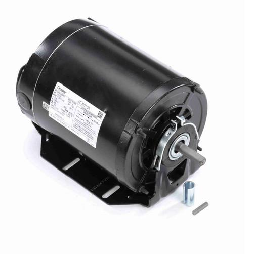 ARB2034L3 Century 1/3 hp (2 speed) 115V 1800/1200 RPM TEAO 56Z Frame Split Phase Resilient Base Motor