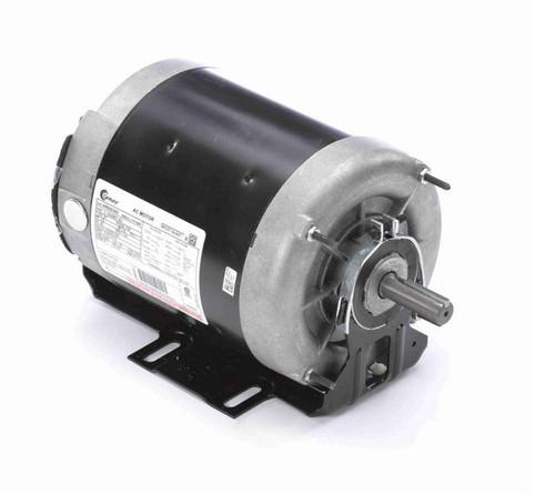 ARB2036S Century 1/3 hp (1 speed) 115/ 208-230V 1200 RPM TEAO 56 Frame Split Phase Resilient Base Motor