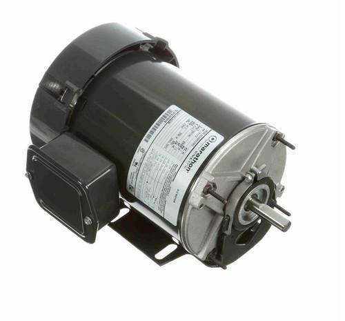 HG189 Marathon 1/4 hp (2 speed) 115V 1800/1200 RPM TEFC 48 Frame Split Phase Resilient Base Motor