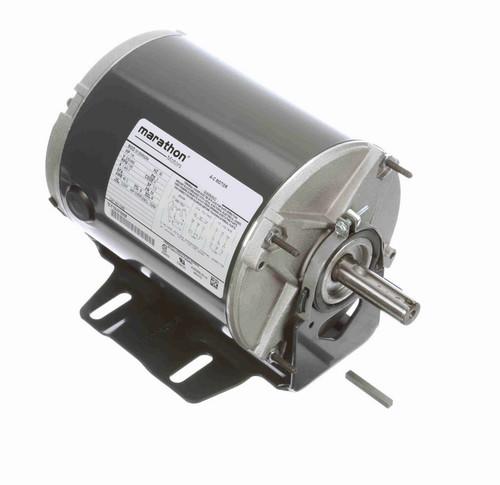 K282 Marathon 1/4 hp (1 speed) 230/460V 1200 RPM TENV 56 Frame 3 Phase Resilient Base Motor