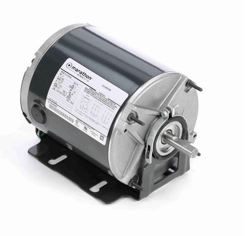 K283 Marathon 1/3 hp (1 speed) 230/460V 1800 RPM TENV 48 Frame 3 Phase Resilient Base Motor