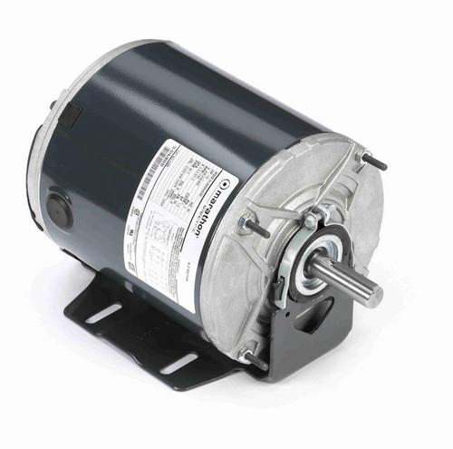 K285 Marathon 1/2 hp (1 speed) 208-230/460V 1200 RPM TENV 56 Frame 3 Phase Resilient Base Motor