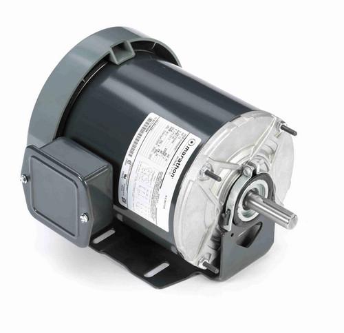 K541 Marathon 1/2 hp (1 speed) 208-230/460V 1200 RPM TEFC 56 Frame 3 Phase Resilient Base Motor