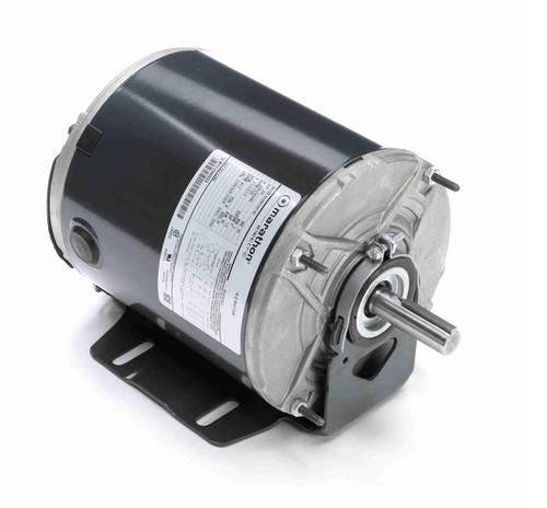 K286 Marathon 3/4 hp (1 speed) 208-230/460V 1800 RPM TENV 56 Frame 3 Phase Resilient Base Motor